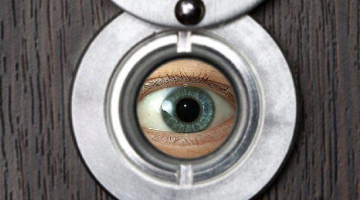 Установка дверного глазка в Минске